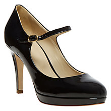 Buy Hobbs Clara Court Shoe, Black Online at johnlewis.com