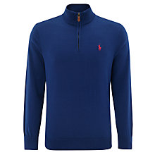 Buy Polo Golf by Ralph Lauren Half Zip Jumper Online at johnlewis.com