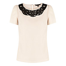 Buy Coast Alice Top, Neutral Online at johnlewis.com