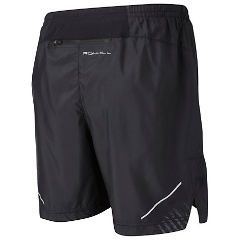 "Buy Ronhill Advance 5"" Shorts, Black Online at johnlewis.com"
