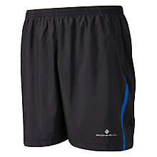 "Buy Ronhill Advance 7"" Shorts, Blue/Black Online at johnlewis.com"