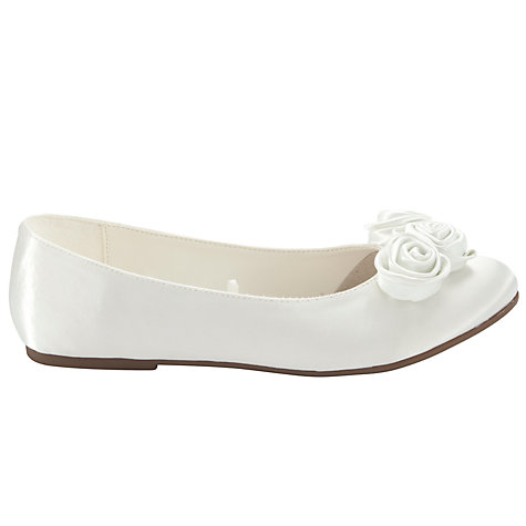 Buy John Lewis Girl Cap Sleeve Holy Communion Dress, White Online at johnlewis.com