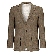 Buy JOHN LEWIS & Co. Harris Tweed Check Blazer, Green Online at johnlewis.com
