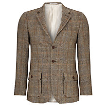 Buy JOHN LEWIS & Co. Harris Tweed Herringbone Check Blazer, Natural Online at johnlewis.com