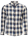 Buy JOHN LEWIS & Co. Long Sleeve Favourite Multi Check Shirt, Navy, S Online at johnlewis.com