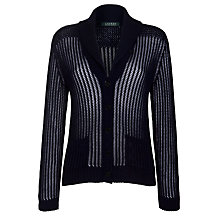 Buy Lauren by Ralph Lauren Shawl Collar Cardigan Online at johnlewis.com