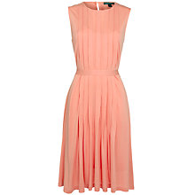 Buy Lauren by Ralph Lauren Sleeveless Pleat Dress Online at johnlewis.com