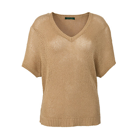 Buy Lauren by Ralph Lauren V-Neck Dolman Jumper Online at johnlewis.com