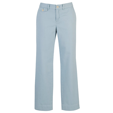 Buy Lauren by Ralph Lauren Skinny Trousers, Juniper Blue Online at johnlewis.com