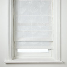 Buy John Lewis Gingko Sheer Roman Blinds Online at johnlewis.com