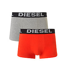 Buy Diesel Kory Stretch Cotton Trunks, Pack of 2 Online at johnlewis.com