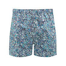 Buy John Lewis Liberty Print Elysian Boxers with Bag, Multi Online at johnlewis.com