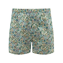 Buy John Lewis Liberty Print Floral Boxers with Bag, Multi Online at johnlewis.com