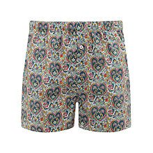 Buy John Lewis Liberty Print Boxers with Bag, Multi Online at johnlewis.com