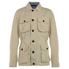 Buy Henri Lloyd Farris Twill Cotton Field Jacket, Sandstone Online at johnlewis.com