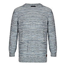 Buy Henri Lloyd Pegwell Crew Neck Cotton Jumper, Navy Online at johnlewis.com