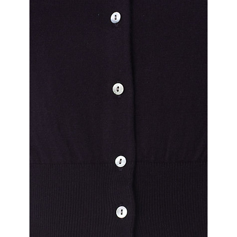 Buy Hobbs Eve Cardigan, Black Online at johnlewis.com