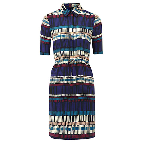 Buy Hobbs Nadya Dress, Multi Online at johnlewis.com
