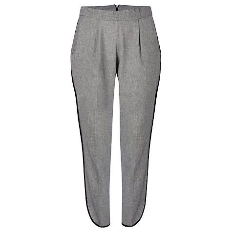 Buy French Connection Prime Run Trousers, Grey Online at johnlewis.com