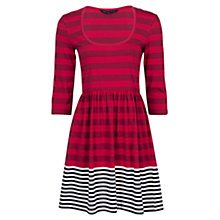 Buy French Connection T-Block Boulevard Stripe Dress Online at johnlewis.com