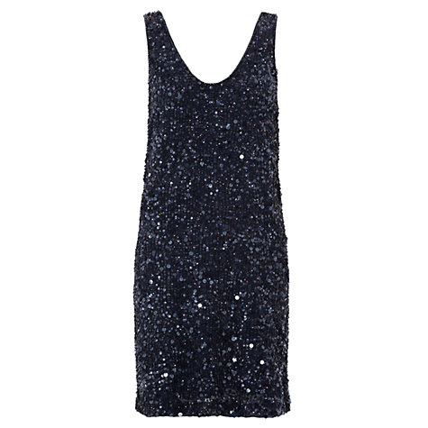 Buy French Connection T-Flash Dress, Nocturnal Online at johnlewis.com