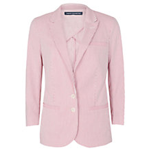Buy French Connection Joany Blazer, Pink Online at johnlewis.com