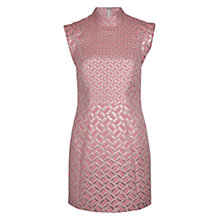 Buy French Connection Tunnel Vision Dress, Rose Online at johnlewis.com