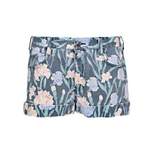 Buy French Connection Floral Denim Pocket Shorts, Carnation Online at johnlewis.com