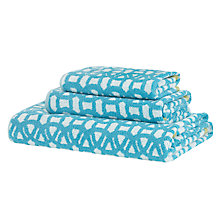 Buy Scion Lace Towels Online at johnlewis.com