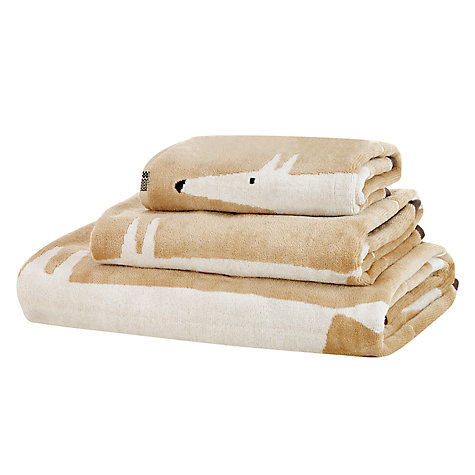 Buy Scion Mr Fox Towels, Charcoal Online at johnlewis.com