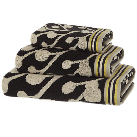 Buy Scion Berry Tree Towels, Charcoal Online at johnlewis.com