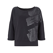 Buy Mint Velvet Metallic Jumper, Storm Grey Online at johnlewis.com
