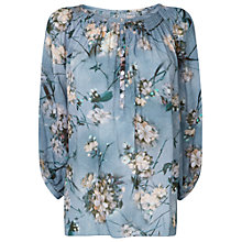 Buy Phase Eight Blossom Blouse, Hyacinth Online at johnlewis.com