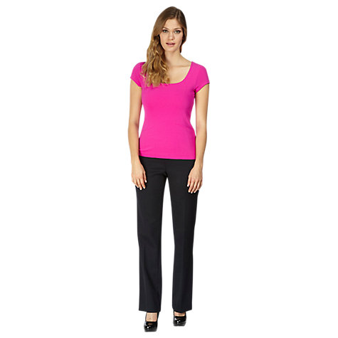Buy Planet Jersey Top, Hot Pink Online at johnlewis.com