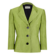 Buy Precis Petite Crinkle Jacket, Pear Online at johnlewis.com