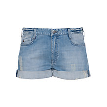 Buy French Connection Afterglow Denim 5 Pocket Shorts, Blue Washed Online at johnlewis.com