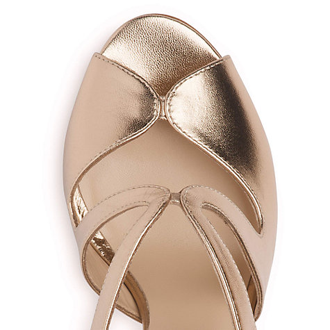 Buy L.K. Bennett Malibu Leather Sandals Online at johnlewis.com