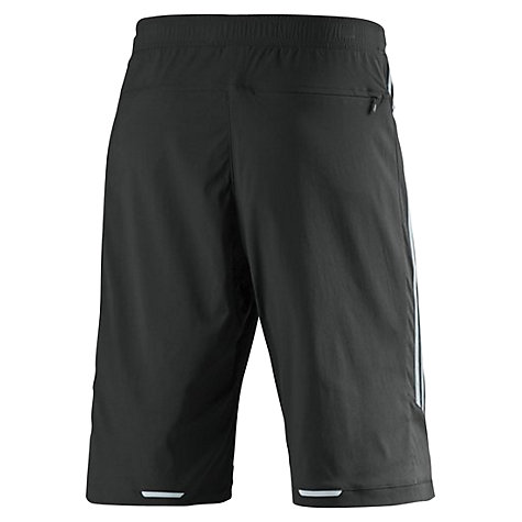 Buy Adidas Men's Response Cycling Shorts, Black/Yellow Online at johnlewis.com