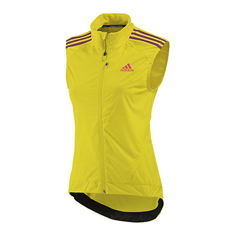 Buy Adidas 2013 Tour Women's Cycling Gilet, Yellow/Purple Online at johnlewis.com
