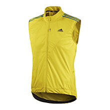 Buy Adidas 2013 Tour Cycling Gilet, Yellow/Black Online at johnlewis.com