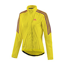 Buy Adidas 2013 Tour Women's Cycling Jacket, Yellow/Purple Online at johnlewis.com