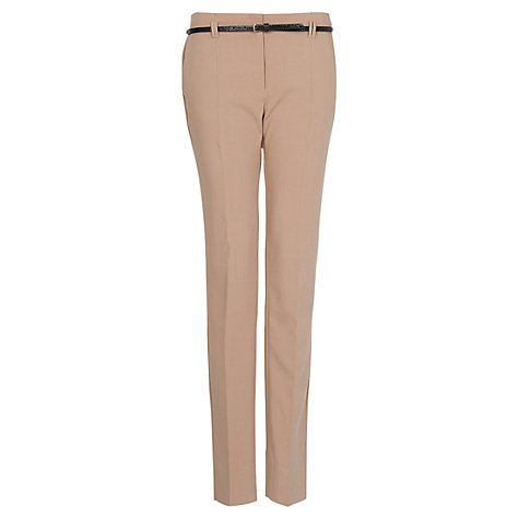 Buy Mango Cropped High Waist Trousers Online at johnlewis.com