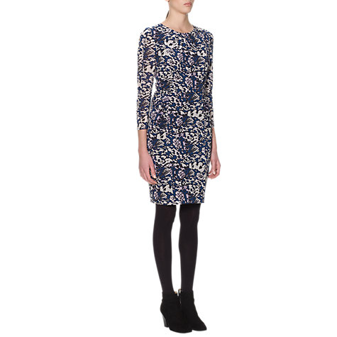 Buy Whistles Izzey Animal Bodycon Dress, Multi Online at johnlewis.com