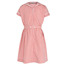 Buy The Red Maids' Junior School Girls' Summer Dress, Red/White Online at johnlewis.com