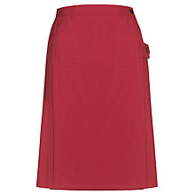 Buy The Red Maids' School Girls' Kilt, Maroon Online at johnlewis.com