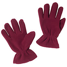 Buy John Lewis Unisex Fleece Gloves Online at johnlewis.com