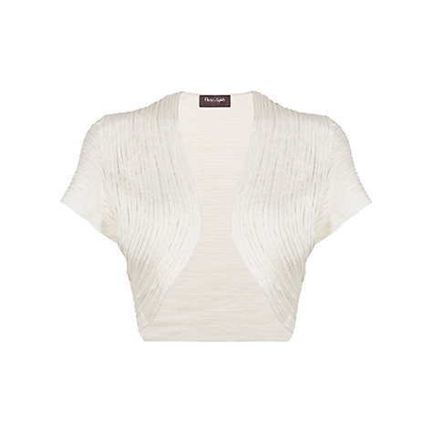 Buy Phase Eight Babylon Bolero, Ivory Online at johnlewis.com