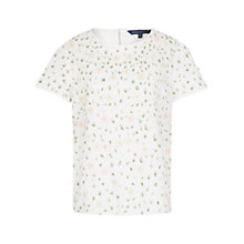 Buy French Connection Elizabeth Top, Daisy White Online at johnlewis.com
