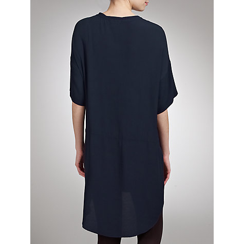 Buy Ghost Marianne Tunic Top, Indigo Online at johnlewis.com