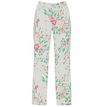 Buy Not Your Daughter's Jeans Kendall Floral Cuffed Ankle Jeans, Painted Bouquet Online at johnlewis.com